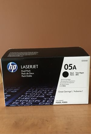 HP Laser-Jet Ink CE505D for Sale in Sewell, NJ