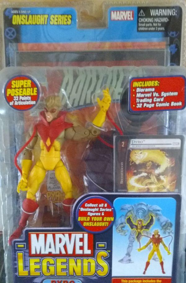 Marvel Legends Pyro