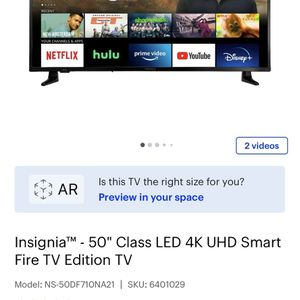 50 Inch 4K LED Smart Tv for Sale in Winfield, IL
