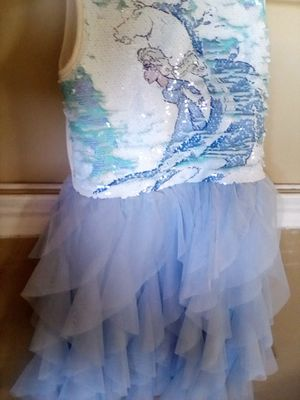 Elsa 2 girls dress for Sale in Fountain Valley, CA