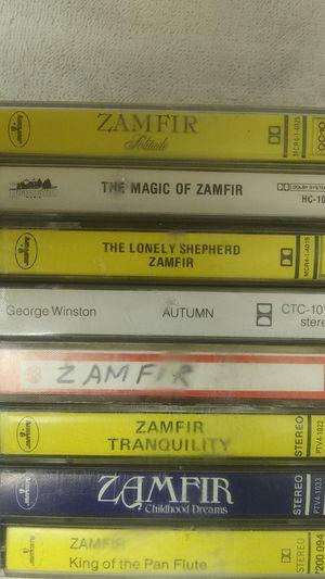 VINTAGE ZAMFIR CASSETTES for Sale in El Paso, TX