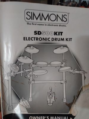 Simmons SD500 Electronic Drums for Sale in Valley View, OH
