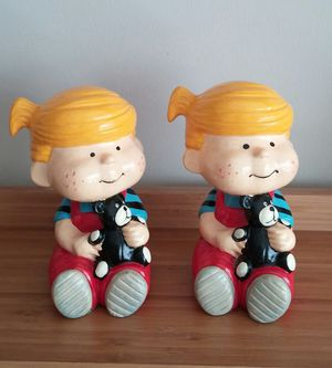 Vintage Dennis the Menace Bookends for Sale in Gaithersburg, MD