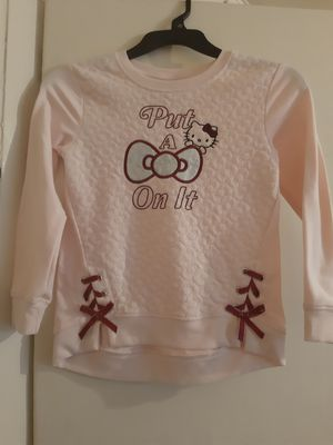 Girls Hello Kitty light sweater for Sale in Azusa, CA