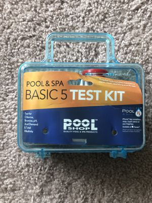 Brand New Pool and SPA Basic 5 Test Kit for Sale in El Cajon, CA
