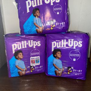 Huggies Pull Ups 3-4 T for Sale in Phoenix, AZ