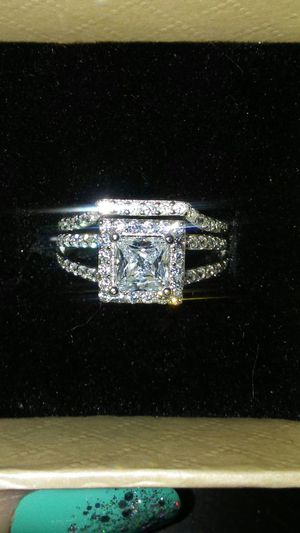 SOLID AND PETITE 925 STERLING SILVER RING SET for Sale in Boston, MA