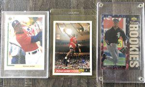 Three Michael Jordan Upper Deck Cards for Sale in Costa Mesa, CA