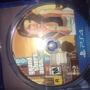 Gta 5 Ps4 for Sale in Garden Grove, CA