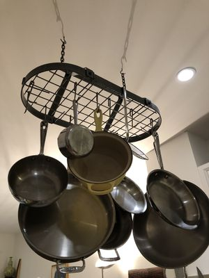 Enclume Pot Rack-Wrought Iron for Sale in Brooklyn, NY