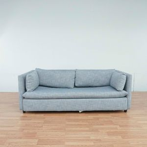 West Elm Gray Upholstered Sleeper Sofa (1036726) for Sale in South San Francisco, CA
