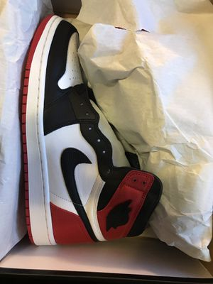 Jordan 1 satin black toe and Nike Sacai Waffle for Sale in Houston, TX