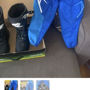 Dirt Bike Boots And Pants For $75 Worn Once for Sale in Gaithersburg, MD