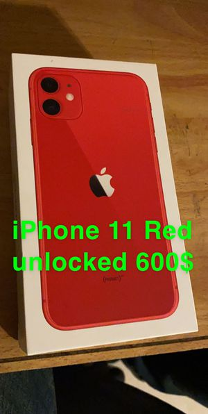 iPhone 11 unlocked for Sale in Covina, CA