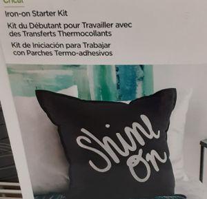 Cricut Iron On Starter Kit for Sale in Olympia, WA