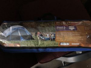 Dome style tent sleeps 6 and camping stove for Sale in Lynnwood, WA