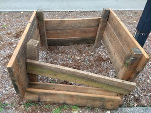 Free raised garden bed / free wood for Sale in Kenmore, WA