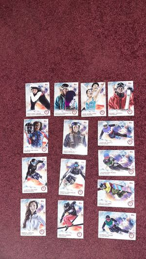 USA Olympic Team Topps Cards for Sale in Brainerd, MN