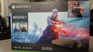 XBOX ONE X Deluxe Edition Battlefield V for Sale in Seattle, WA