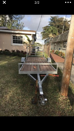 Continental utility trailer for Sale in Fort Lauderdale, FL