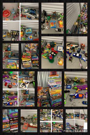 Huge Sale!!! Part 1 of 2 Toys Games Disney Parks Nerf Star Wars Vintage Collectable for Sale in Davenport, FL