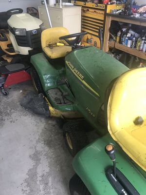 Two John Deere tractors $200 firm for Sale in Matteson, IL