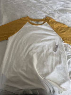 Women's old navy baseball tee brand new with tags for Sale in Las Vegas, NV