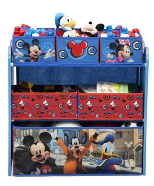 Disney Mickey Mouse Multi-bin Toy organizer! 31.84$ Retail. ••2 Available•• for Sale in Green Bay, WI