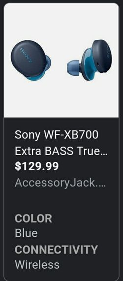 Sony Bluetooth headphones for Sale in Hillcrest Heights,  MD