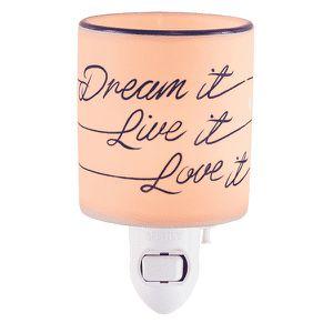 Dream It Live It Love It Scentsy Mini Warmer for Sale in Deer Park, TX