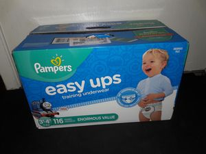 Pampers Easy Ups Boys 3t-4t (116 count) for Sale in Garland, TX