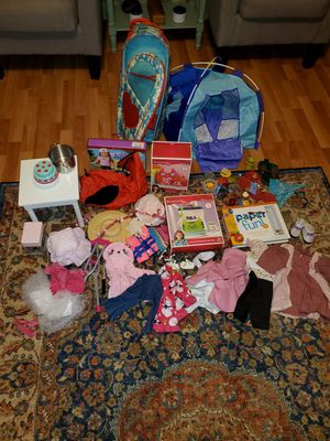 American Girl & Our Generation Doll Lot for Sale in Hampton, VA