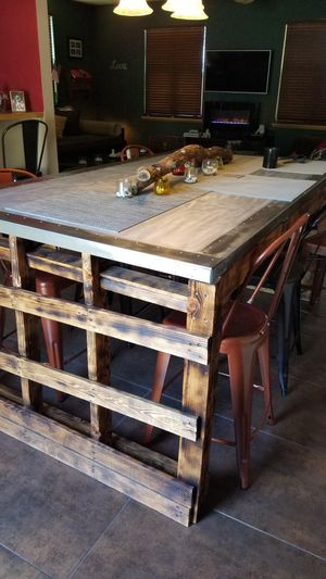 Custom Pallet Dining Table for Sale in Austin, CO