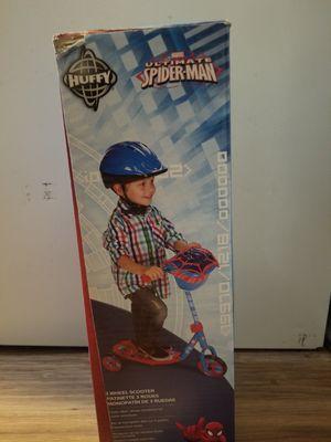 Marvel Spiderman 3 Wheel Scooter for Sale in Richmond, VA