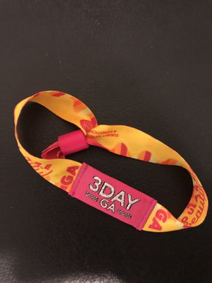 Life Is Beautiful 2018 3 Day GA Tickets (multiple available) for Sale in San Luis Obispo, CA