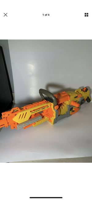 NERF Vulcan EBF-25 Dart Gun Toy Blaster Foam Hasbro Discontinued Tested & Works for Sale in Sunrise, FL