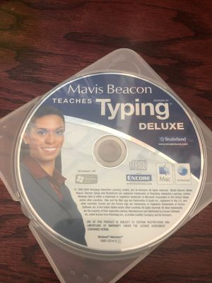 Mavis Beacon Teaches Typing MAC or PC for Sale in Clermont, FL