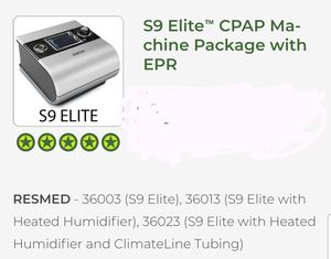 CPap machine RESMED S9 for Sale in Pompano Beach, FL
