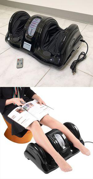New $70 Shiatsu Foot Massager Kneading Rolling Leg Calf Ankle w/ Remote Home Health Care for Sale in South El Monte, CA