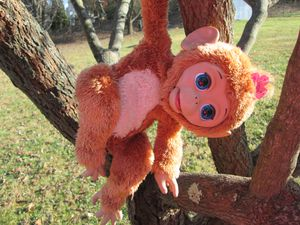 BABY DOLL MONKEY ROBOT INTERACTIVE TOY for Sale in Frederick, MD