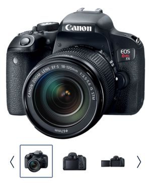 Brand new Canon Eos Rebel t7i with 18-135mm IS STM lens for Sale in Sunrise, FL