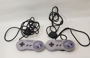Original Super Nintendo Controllers (SNES Controllers) for Sale in Houston, TX