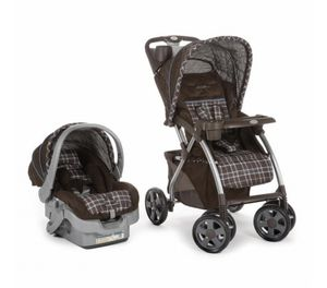 BRAND NEW Eddie Bauer Stroller & Car seat for Sale in Sterling Heights, MI