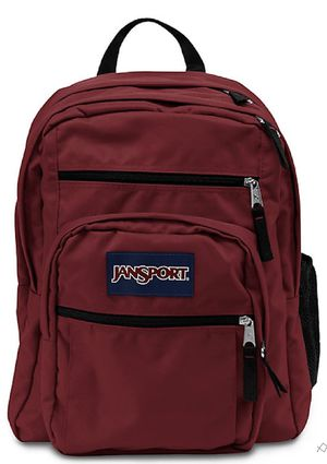 JanSport Big Student Backpack Viking Red for Sale in Fort Mill, SC