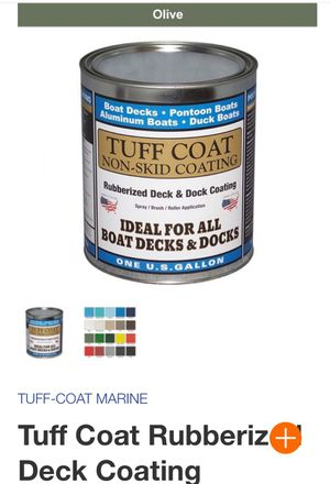 Tuff Coat rubberized non slip paint / waterproof for Sale in Spring, TX