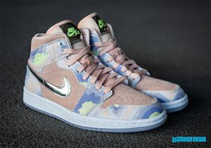 BRAND NEW Air Jordan 1 Mid SE P(her)spective Size 6W DS for Sale in Los Angeles, CA