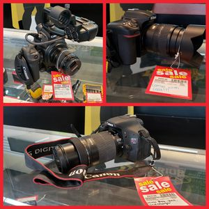 Canon and Nikon Cameras and Camcorders for Sale in Hampton, VA