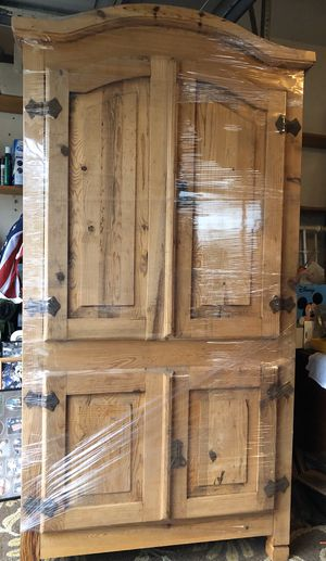Large Made in Mexico Armoire/closet/storage for Sale in Naperville, IL
