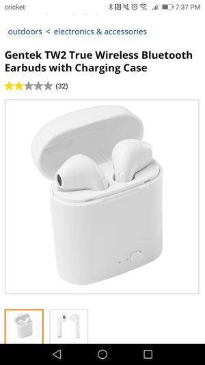 Gentek tw2 Bluetooth earbuds for Sale in Sanger, CA