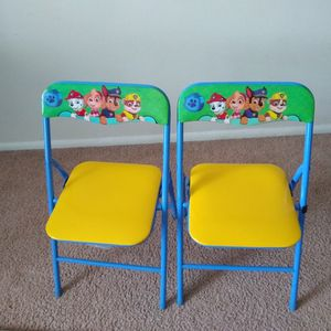 Paw Patrol Kids Table With 2 Chairs for Sale in Marcus Hook, PA